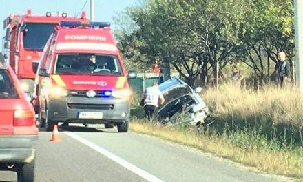 Accident între Căpușu Mare și Gilău FOTO