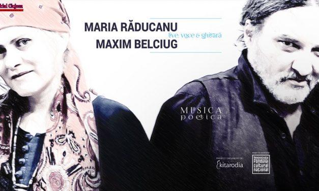 Maria Răducanu și Maxim Belciug cântă la Cluj