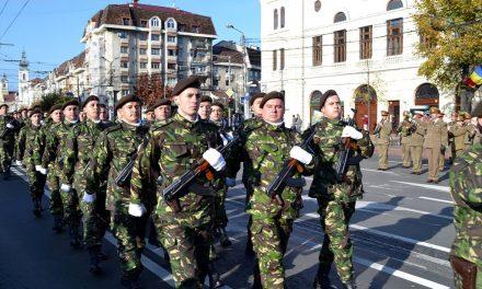 Ziua Armatei Române, marcată la Cluj-Napoca FOTO