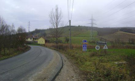 Lucrările de asfaltare în localitatea Sântioana au fost finalizate FOTO