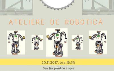 EU Robotics – copiii şi roboţii, împreună la bibliotecă!