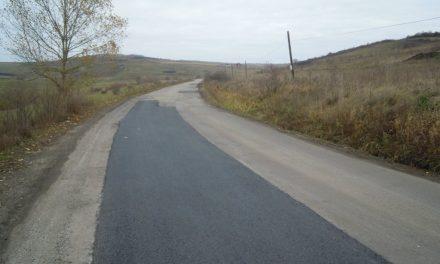 CJ Cluj:  Au fost finalizate lucrările de întreținere pe drumul județean 109A Chinteni – Șoimeni FOTO
