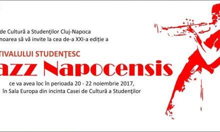 "Festivalul studențesc ""JAZZ NAPOCENSIS"" 2017, Ediția a XXI-a"