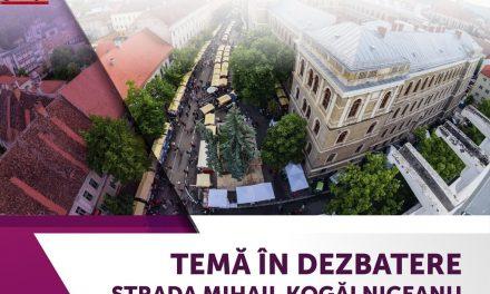 Centrul de Inovare şi Imaginaţie Civică organizează o nouă dezbatere publică pe tema reamenajării străzii Mihail Kogălniceanu