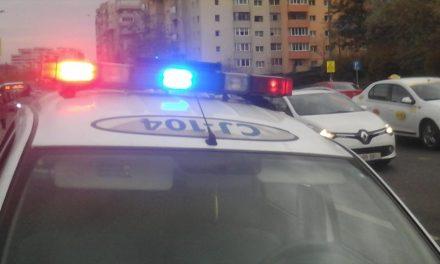 Beat și fără permis la volan, depistat de polițiști în Florești