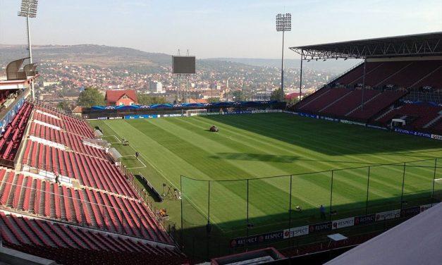 """Restricții de circulație duminică, 14 aprilie 2019, în zona stadionului CFR """"Dr. ConstantinRădulescu"""""""