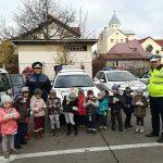 Zeci de copii au vizitat sediul poliției rutiere Cluj FOTO