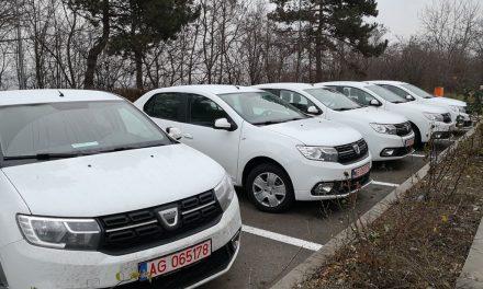 Autoturisme de serviciu pentru Inspectoratul de Poliție Județean Cluj FOTO
