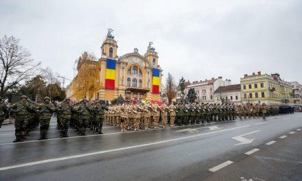Ziua Națională a României, sărbătorită la Cluj-Napoca FOTO