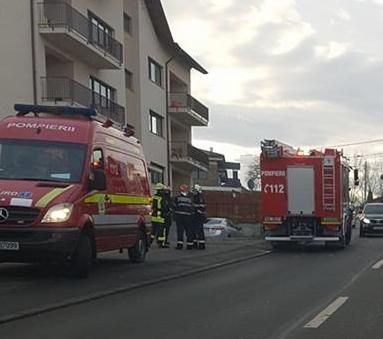 Incendiu într-un apartament din Florești. Totul a pornit de la o lumânare aprinsă lăsată nesupravegheată