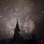 Revelion 2018! Artificii spectaculoase în Piața Unirii VIDEO