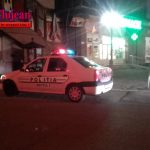 Razie în zona Pieței Mihai Viteazul  FOTO