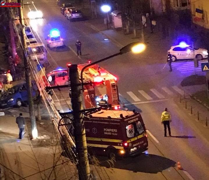 Accident GRAV în Grigorescu FOTO