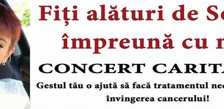 """Concert caritabil la Cluj-Napoca """"Fii alături de Sonia, împreună cu noi!"""""""