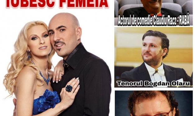 "Spectacol ""Iubesc femeia"" la Cluj-Napoca"