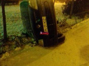 Accident pe strada Primăverii FOTO