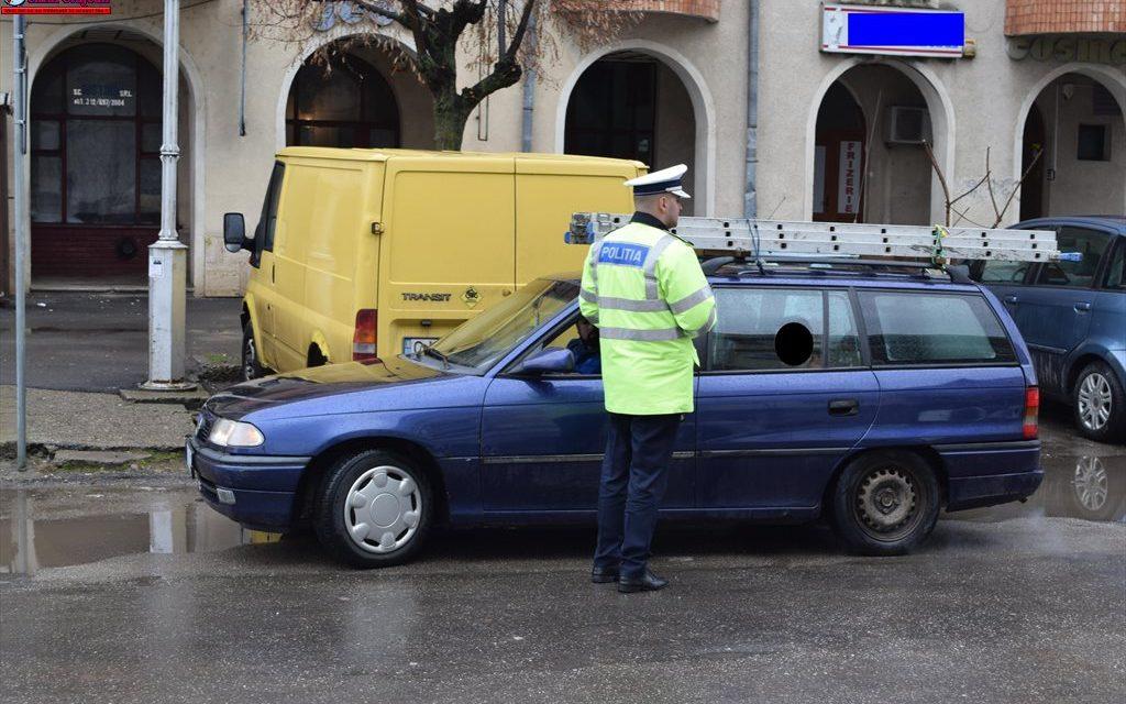 Razie în trafic la Cluj. 5 permise de conducere au fost reținute