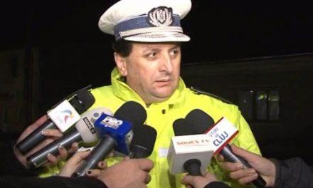 Fostul șef al Poliției Rutiere Dej a decedat
