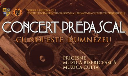 """""""Cu noi este Dumnezeu"""" – Concert  de pricesne, muzică bisericească şi cultă"""