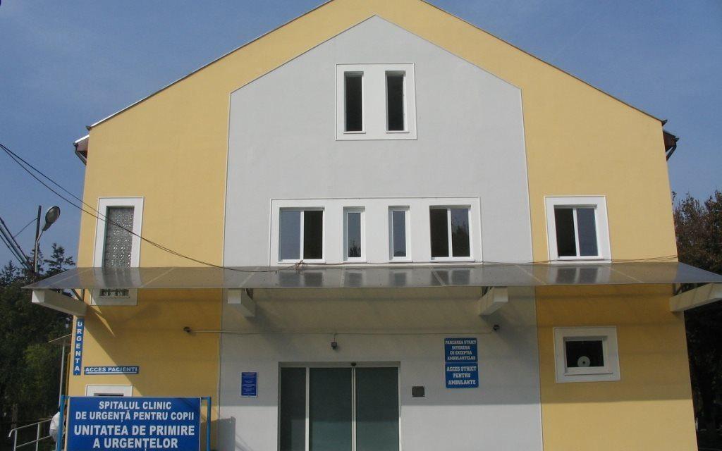 Cluj: Număr mare de consultații la UPU și camerele de gardă ale Spitalului pentru Copii