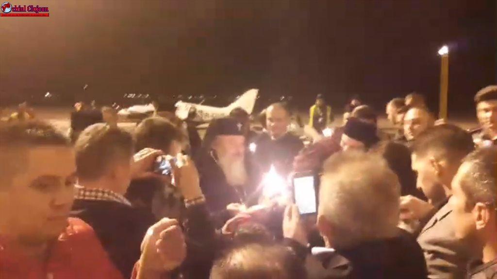 Lumina Sfântă a ajuns la Cluj VIDEO