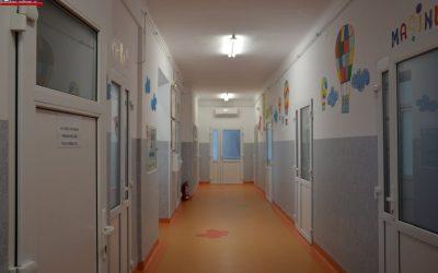 Etajul II al Clinicii Pediatrie III din Cluj-Napoca a fost renovat FOTO