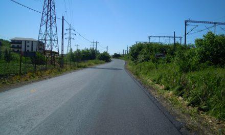 Cluj: Au fost finalizate lucrările de asfaltare pe sectorul de drum dintre Apahida și Moriști FOTO