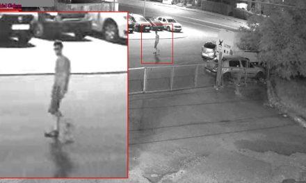 Imagini cu persoana suspectă care ar fi pus cutia cu explozibil lângă un autoturism la Colina VIDEO