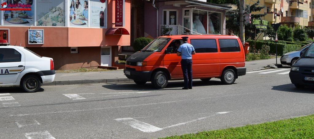 Razie la Dej! Zeci de contravenții constatate de polițiști FOTO