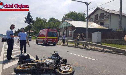 Accident în Vâlcele. Un motociclist a fost rănit VIDEO