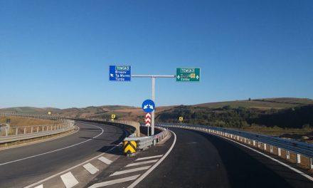 CNAIR: Încă 9,6 km de autostradă deschiși traficului rutier VIDEO