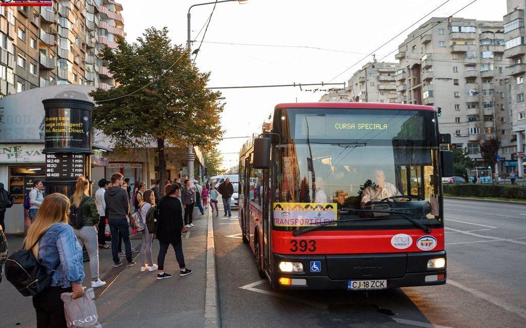 CTP Cluj suplimentează numărul autobuzelor școlare. Vezi ruta