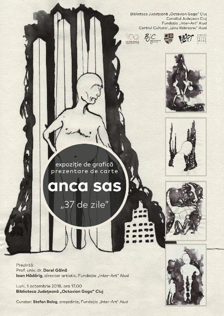 """Expoziție de grafică și prezentare de carte la Biblioteca Județeană """"Octavian Goga"""""""
