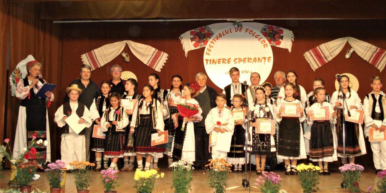 """Festival concurs de folclor pentru copii ,,TINERE SPERANŢE"""", ediția a XV-a"""