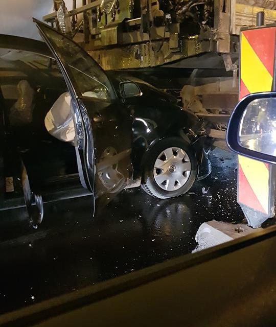 Accident pe strada Observatorului, produs de un șofer beat FOTO