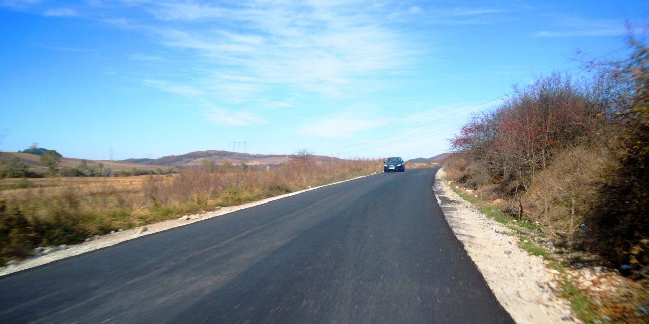Cluj: A fost finalizată asfaltarea drumului județean DJ 161 Dăbâca – Pâglişa – Dârja – Panticeu