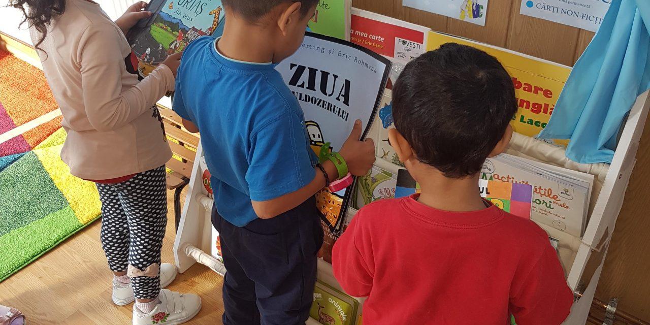 1500 de copii preșcolari din județul Cluj vor primi Prima Carte pentru acasă