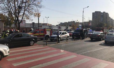 Accident cu patru victime în Mărăști FOTO