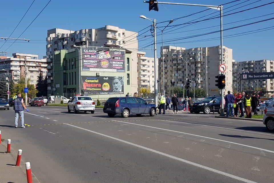 Accident cu trei mașini pe strada Câmpului FOTO