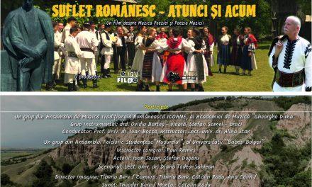 """Poemul cinematografic """"Suflet Românesc – atunci și acum – Despre muzica poeziei și poezia muzicii"""", prezentat în premieră la Cluj-Napoca"""