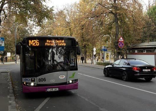 CTP Cluj modifica traseul liniilor M26 SI M16, cu ocazia Transilvania Rally 2020