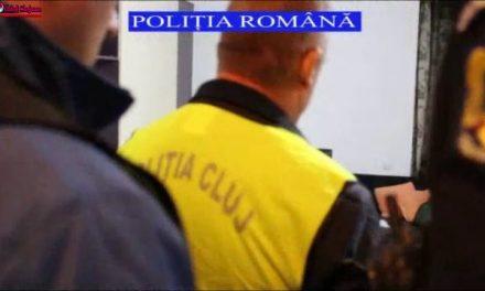 Peste 100.000 de lei și 30.000 de euro, confiscați de polițiștii clujeni în urma unor percheziții FOTO-VIDEO