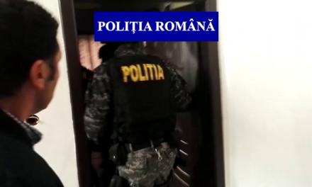 Bărbat urmărit național, depistat de polițiști în Florești VIDEO