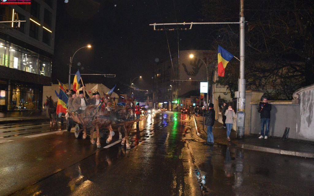 Convoiul Unirii a poposit la Cluj-Napoca GALERIE FOTO