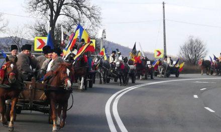 Convoiul de călăreți de la Sigheta ajuns la  Cluj FOTO-VIDEO