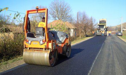 Lucrări de modernizare pe drumul județean 109A Vultureni – Panticeu – Recea Cristur – Dealul Jurcii