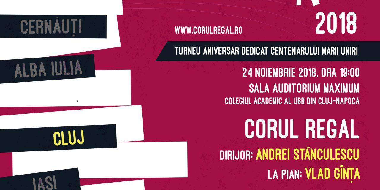 Corul Regal concertează la Cluj-Napoca