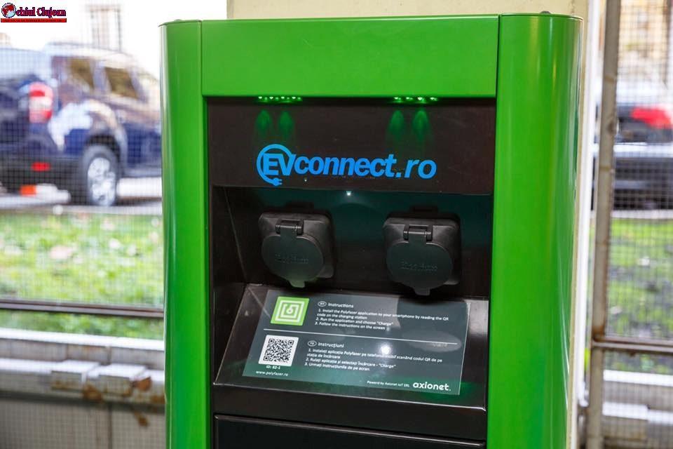 Cluj-Napoca: Stații de încărcare pentru autovehicule electrice FOTO