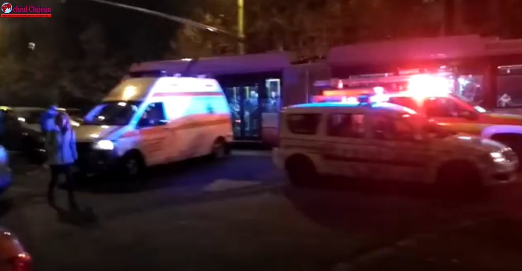 Accident pe Nicolae Titulescu. Un motociclist  a ajuns la spital VIDEO
