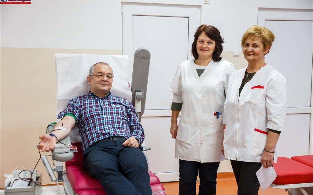 112 angajați ai Primăriei Cluj-Napoca donează sânge la Centrul Regional de Transfuzie